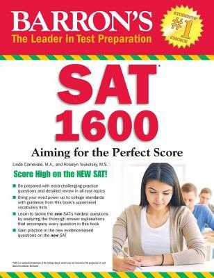 Barron's SAT 1600: Revised for the New SAT - Carnevale, Linda, and Teukolsky, Roselyn