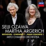 Beethoven: Symphony 1; Piano Concerto 1
