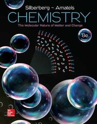 Chemistry: The Molecular Nature of Matter and Change - Silberberg, Martin S., and Amateis, Patricia
