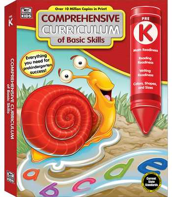 Comprehensive Curriculum of Basic Skills, Grade Pk - Thinking Kids (Compiled by), and Carson-Dellosa Publishing (Compiled by)