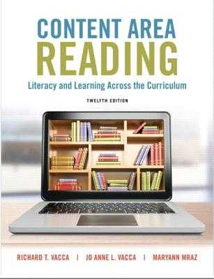 Content Area Reading: Literacy and Learning Across the Curriculum Plus Pearson Enhanced Etext -- Access Card Package - Vacca, Richard T, and Vacca, Jo Anne L, and Mraz, Maryann E