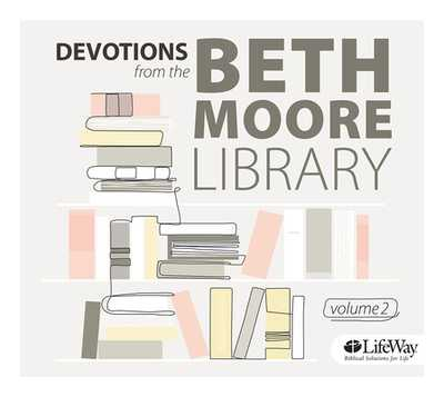 Devotions from the Beth Moore Library Audio CD, Volume 2 - Moore, Beth