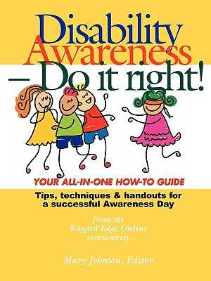 Disability Awareness - Do It Right! - Johnson, Mary (Editor)