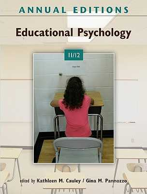 Educational Psychology - Cauley, Kathleen M (Editor), and Pannozzo, Gina M (Editor)