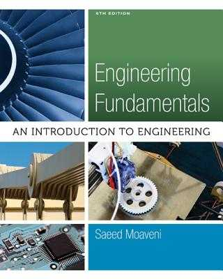 Engineering Fundamentals : An Introduction to Engineering - Moaveni, Saeed