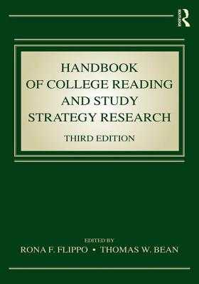Handbook of College Reading and Study Strategy Research - Flippo, Rona F. (Editor), and Bean, Thomas W. (Editor)
