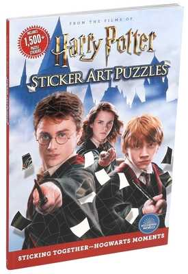 Harry Potter Sticker Art Puzzles - Editors of Thunder Bay Press