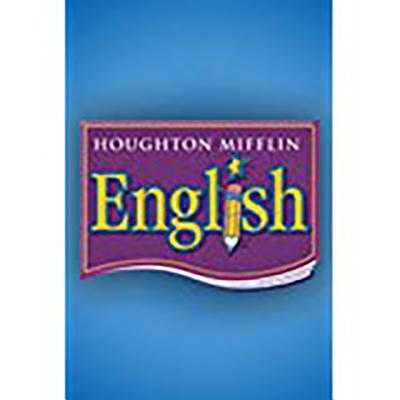 Houghton Mifflin English: Student Edition Non-Consumable Level 6 2006 - Houghton Mifflin Company (Prepared for publication by)