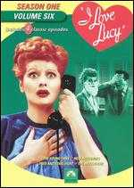 I Love Lucy: Season 1, Vol. 6 -