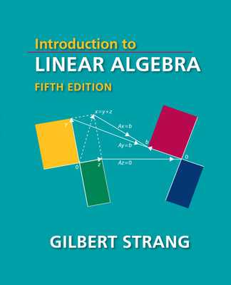 Introduction to Linear Algebra - Strang, Gilbert