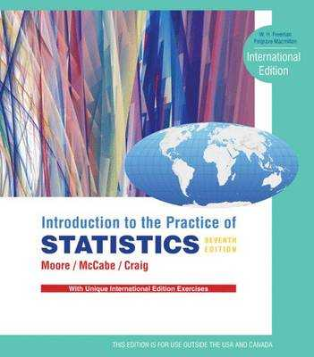 Introduction to the Practice of Statistics book by David S