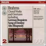 Johannes Brahms: Choral Works and Overtures