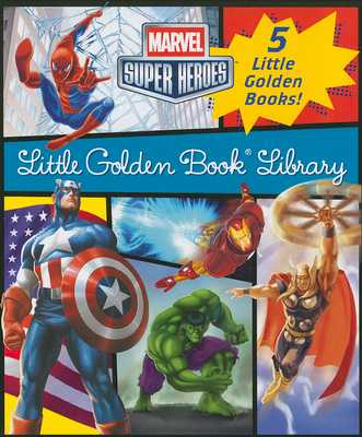 Marvel Little Golden Book Library - Various