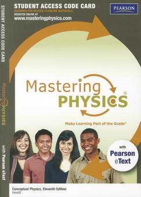 Mastering Physics with Pearson Etext -- Standalone Access Card -- For Conceptual Physics - Hewitt, Paul G