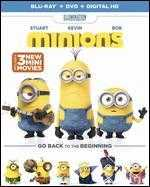 Minions [Includes Digital Copy] [Blu-ray/DVD] [2 Discs]