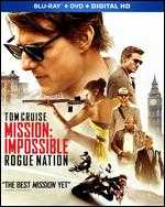 Mission: Impossible - Rogue Nation [Includes Digital Copy] [Blu-ray/DVD] - Christopher McQuarrie