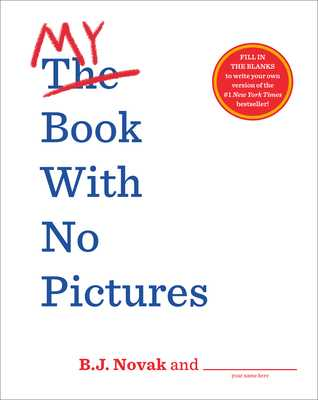 My Book with No Pictures - Novak, B J