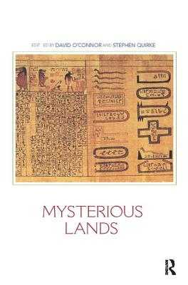Mysterious Lands - O'Connor, David (Editor)