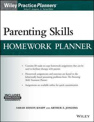 Parenting Skills Homework Planner (W/ Download) - Knapp, Sarah Edison, and Jongsma, Arthur E