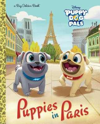 Puppies in Paris (Disney Junior: Puppy Dog Pals) - Olson, Michael