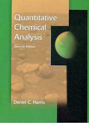 Quantitative Chemical Analysis & Solutions Manual - Harris, Daniel C