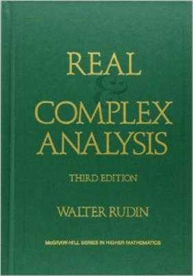 Real and Complex Analysis - Rudin, Walter