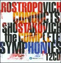 Rostropovich conducts Shostakovich: The Complete Symphonies - Galina Vishnevskaya (soprano); Mark Reshetin (bass); Nicola Ghiuselev (bass); London Voices (choir, chorus);...