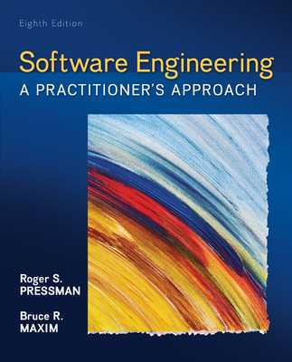 Software Engineering: A Practitioner's Approach - Pressman, Roger S., and Maxim, Bruce R.