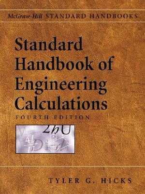 Standard Handbook of Engineering Calculations - Hicks, Tyler Gregory