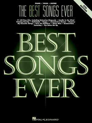 The Best Songs Ever - Hal Leonard Corp (Creator)