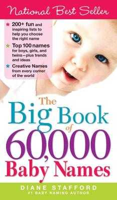 The Big Book of 60,000 Baby Names - Stafford, Diane