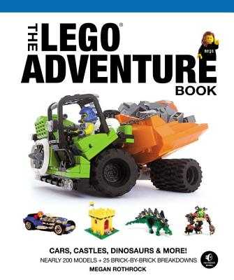 The Lego Adventure Book, Vol. 1 - Rothrock, Megan H.
