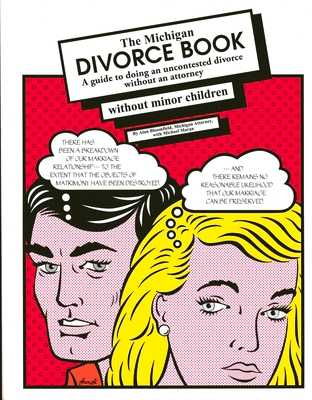 The Michigan Divorce Book Without Minor Children - Bloomfield, Alan