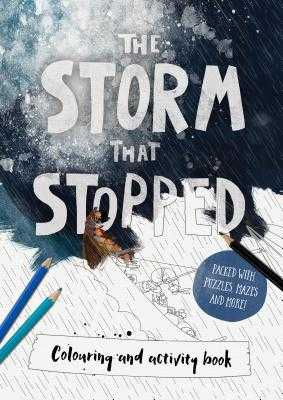 The Storm that Stopped Colouring & Activity Book: Colouring, puzzles, mazes and more - Mitchell, Alison
