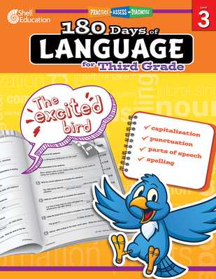 180 Days of Language for Third Grade: Practice, Assess, Diagnose - Dugan, Christine
