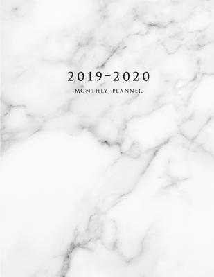 2019-2020 Monthly Planner: Large Two Year Planner with Marble Cover (Volume 6) - Planners, Miracle
