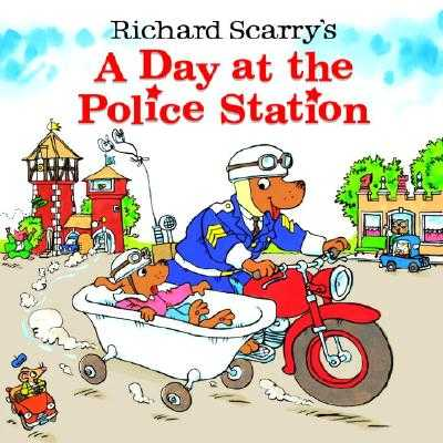 A Day at the Police Station - Scarry, Richard