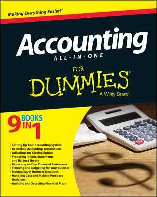 Accounting All-In-One for Dummies - Boyd, Kenneth W, and Epstein, Lita, MBA, and Holtzman, Mark P