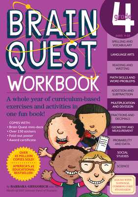 Brain Quest Workbook: Grade 4 - Gregorich, Barbara