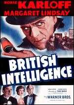 British Intelligence - Terrell O. Morse