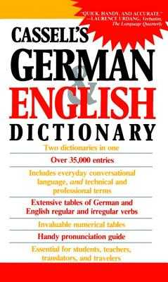 Cassell's German & English Dictionary - Dixon, Charlotte, Dr. (Editor), and Horne, Joseph (Editor), and Sasse, H -C (Editor)