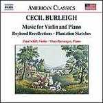 Cecil Burleigh: Music for Violin and Piano