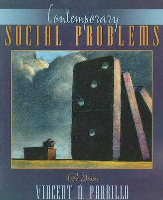 Contemporary Social Problems - Parrillo, Vincent N, Dr.
