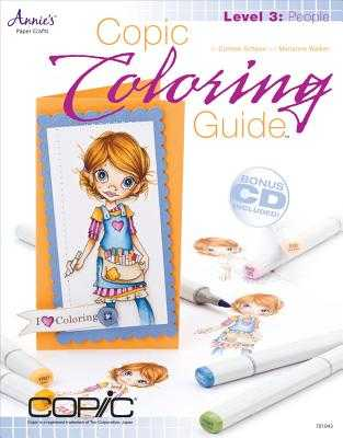 Copic Coloring Guide Level 3: People - Schaan, Colleen, and Walker, Marianne