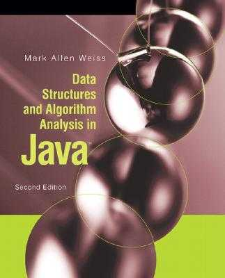 Data Structures and Algorithm Analysis in Java - Weiss, Mark Allen