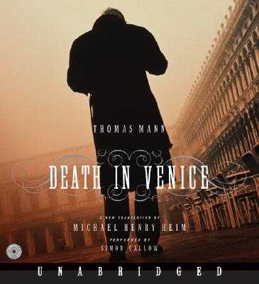 Death in Venice CD - Mann, Thomas, and Callow, Simon (Read by), and Cunningham, Michael (Read by)