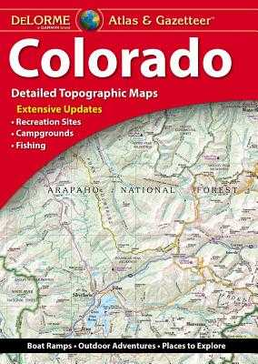 Delorme Atlas & Gazetteer: Colorado - Rand McNally