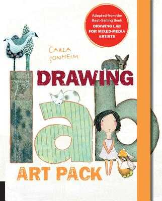 Drawing Lab Art Pack: A Fun, Creative Exercise Book & Sketchpad - Adapted from the Best-Selling Book Drawing Lab for Mixed-Media Artists - Sonheim, Carla