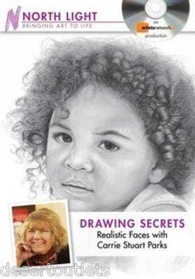 Drawing Secrets - Realistic Faces - North Light Books