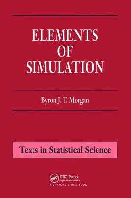 Elements of Simulation - Morgan, Byron J T